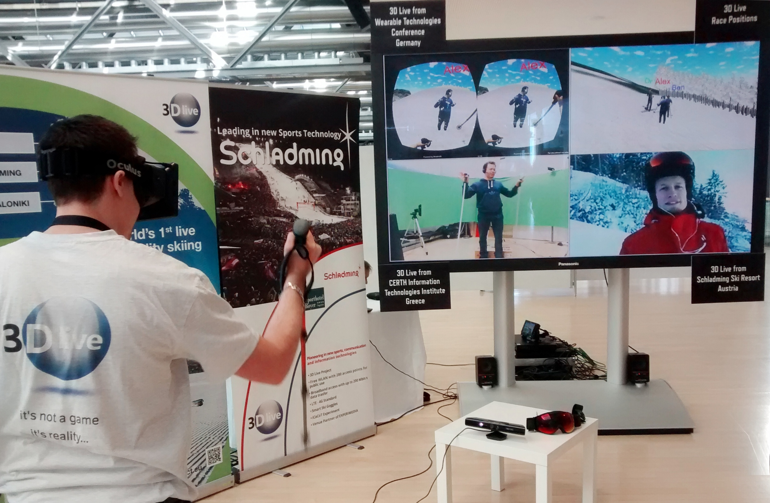 Spotlight: 3DLive and The World's First 'Mixed Reality' Ski Race