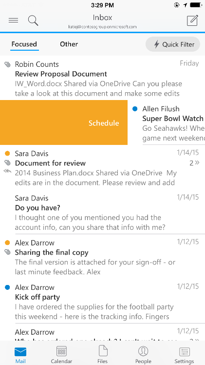 Outlook Finally Comes to iOS and Android