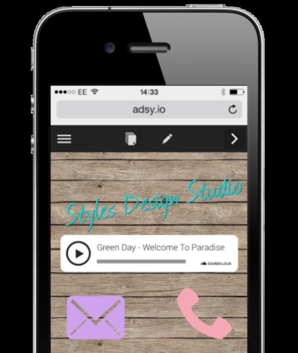 Adsy Web App Creation Platform