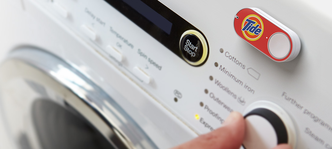 Amazon Launches Dash Button to Instantly Re-order FMCG Products
