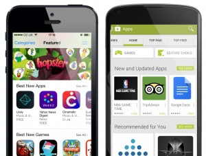 Android App Downloads Double iOS in 2015