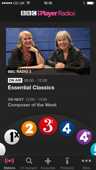 BBC Launches Mobile Downloads on iPlayer Radio App