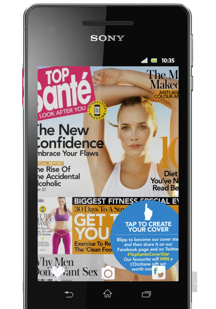 Tried & Tested: Top Santé's Blippable Fitness Issue