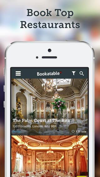 40 Per Cent in UK Now Book a Table on Mobile