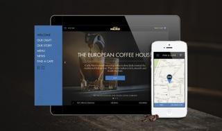 Caffè Nero Creates Responsive Website to Accompany US Launch