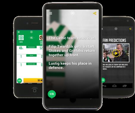 Celtic Wins Award for Stadium Wi-fi and Fan App