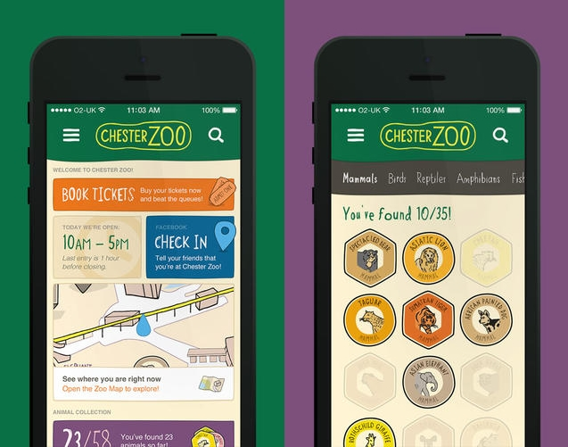 Chester Zoo Launches Location-specific App