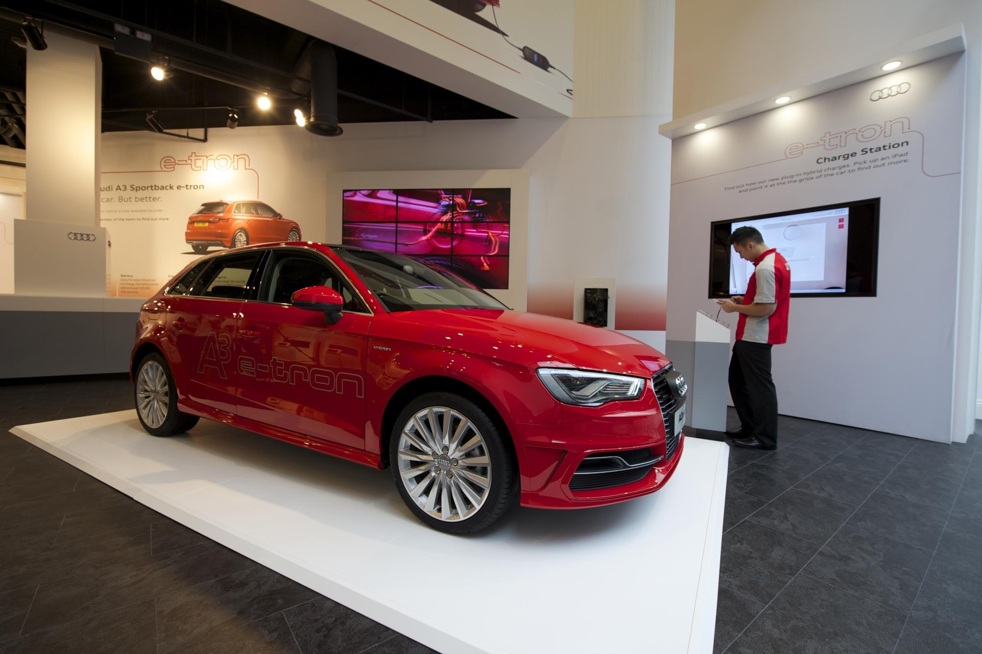 Case Study: Audi A3 Sportback e-tron Pop-up Store