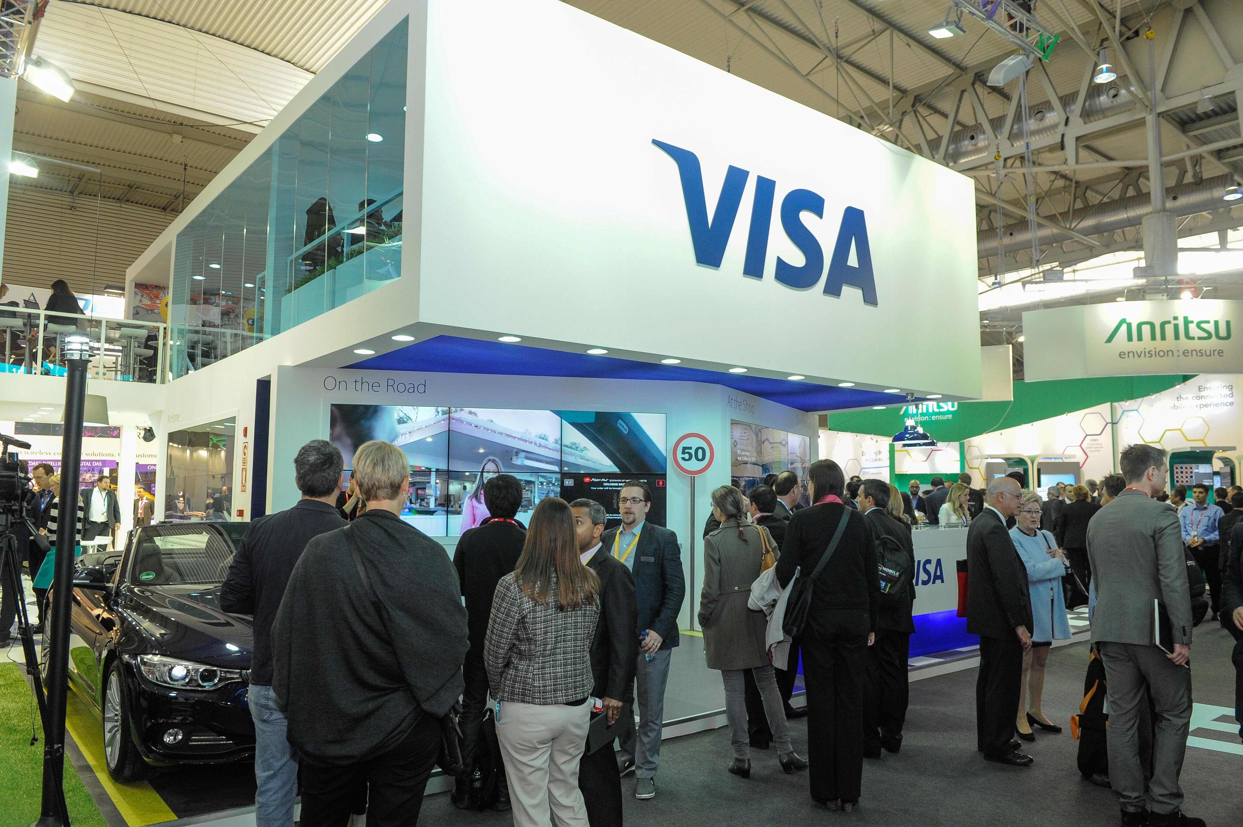 Visa Unveils Partnerships for Mobile Payments and Connected Cars