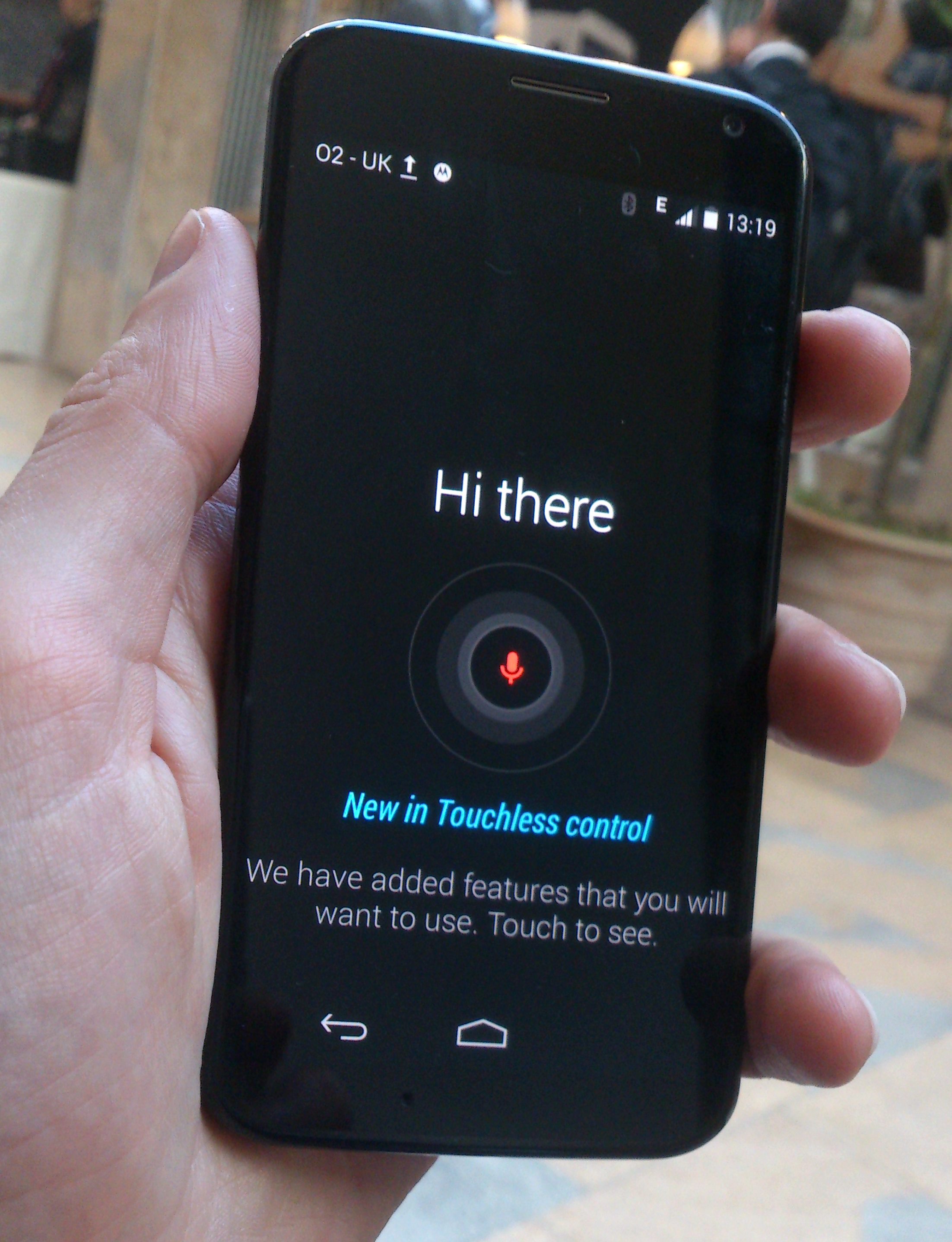 Moto X: Letting Go of the Controls
