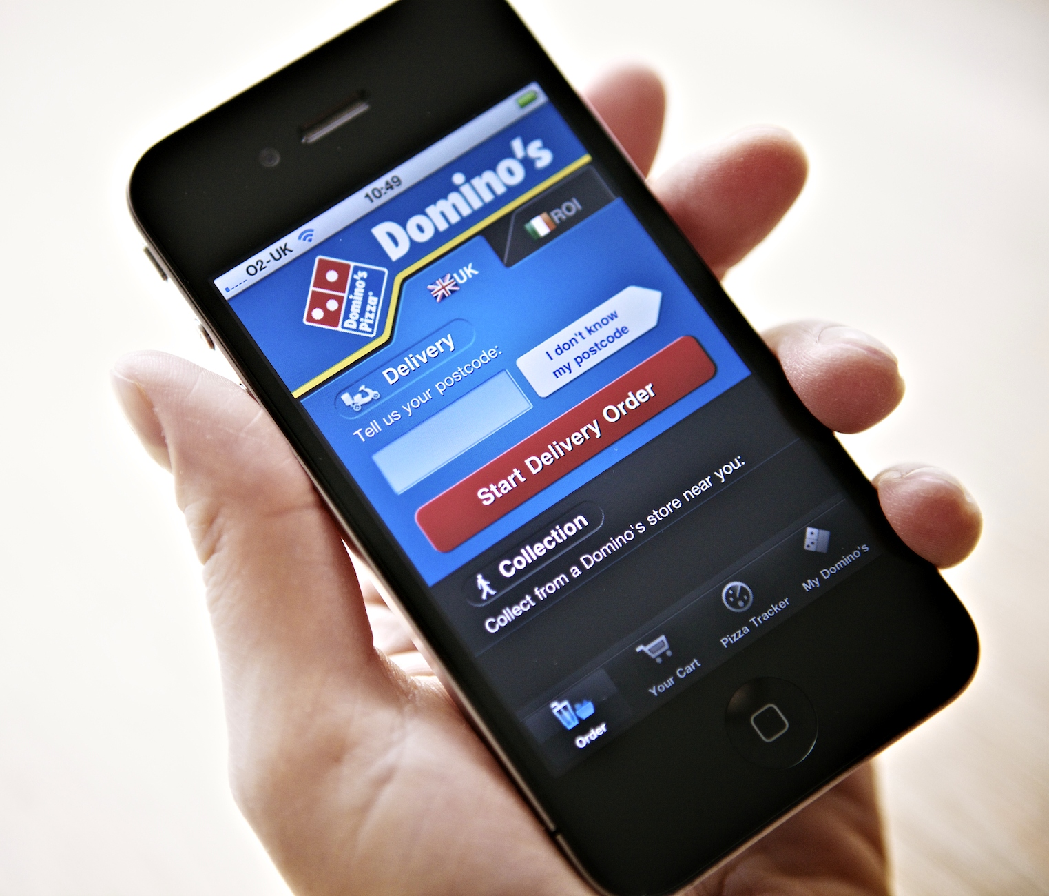 Mobile Made Up a Fifth of Domino's UK Delivery Sales in 2013