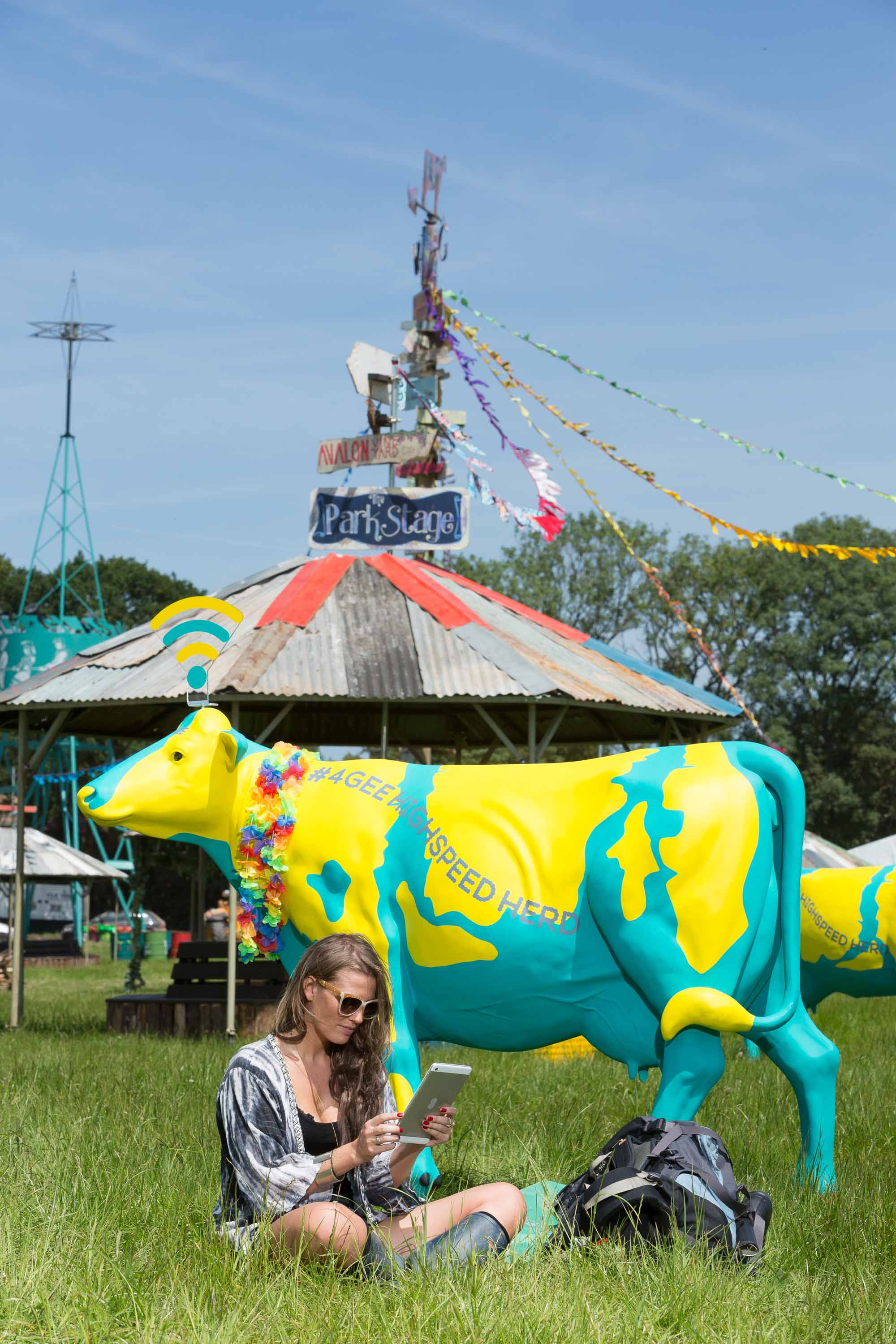 EE Provides Glastonbury With 'Highspeed Herd' for 2014 Festival