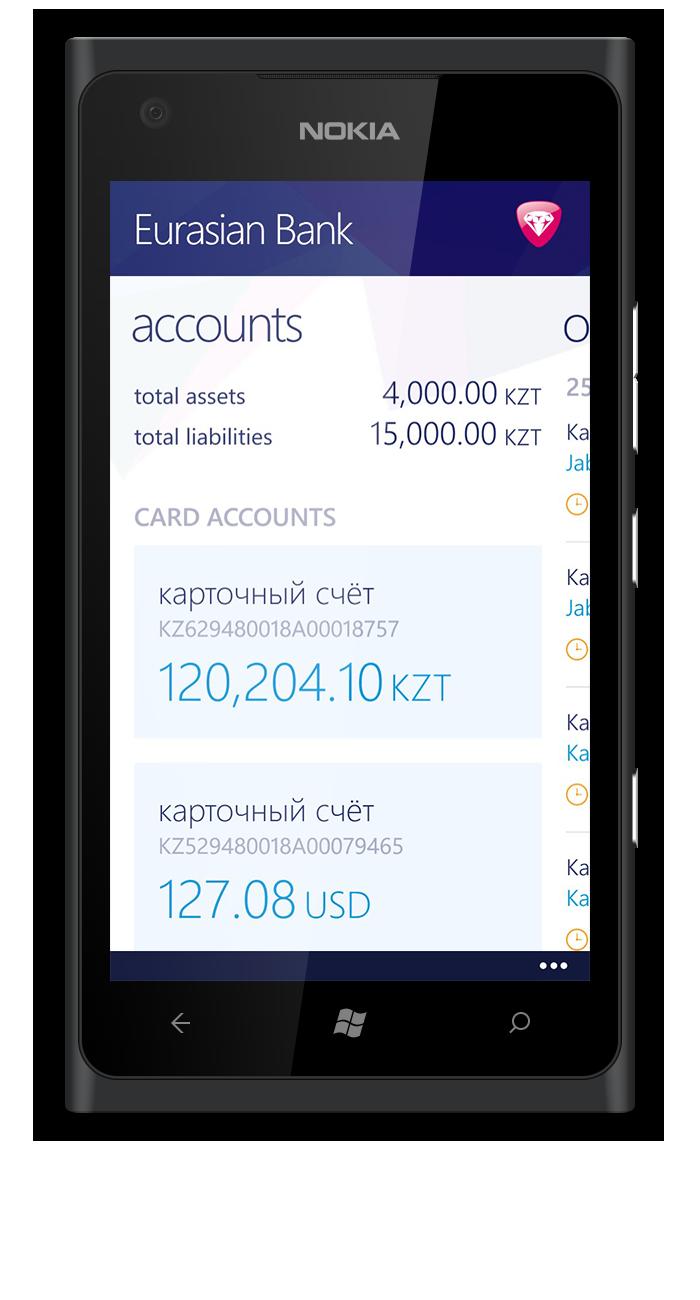 Eurasian Bank Brings Mobile Banking to Kazakhstan