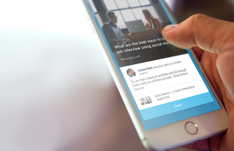 LinkedIn Introduces App to Encourage Employees to Share Content