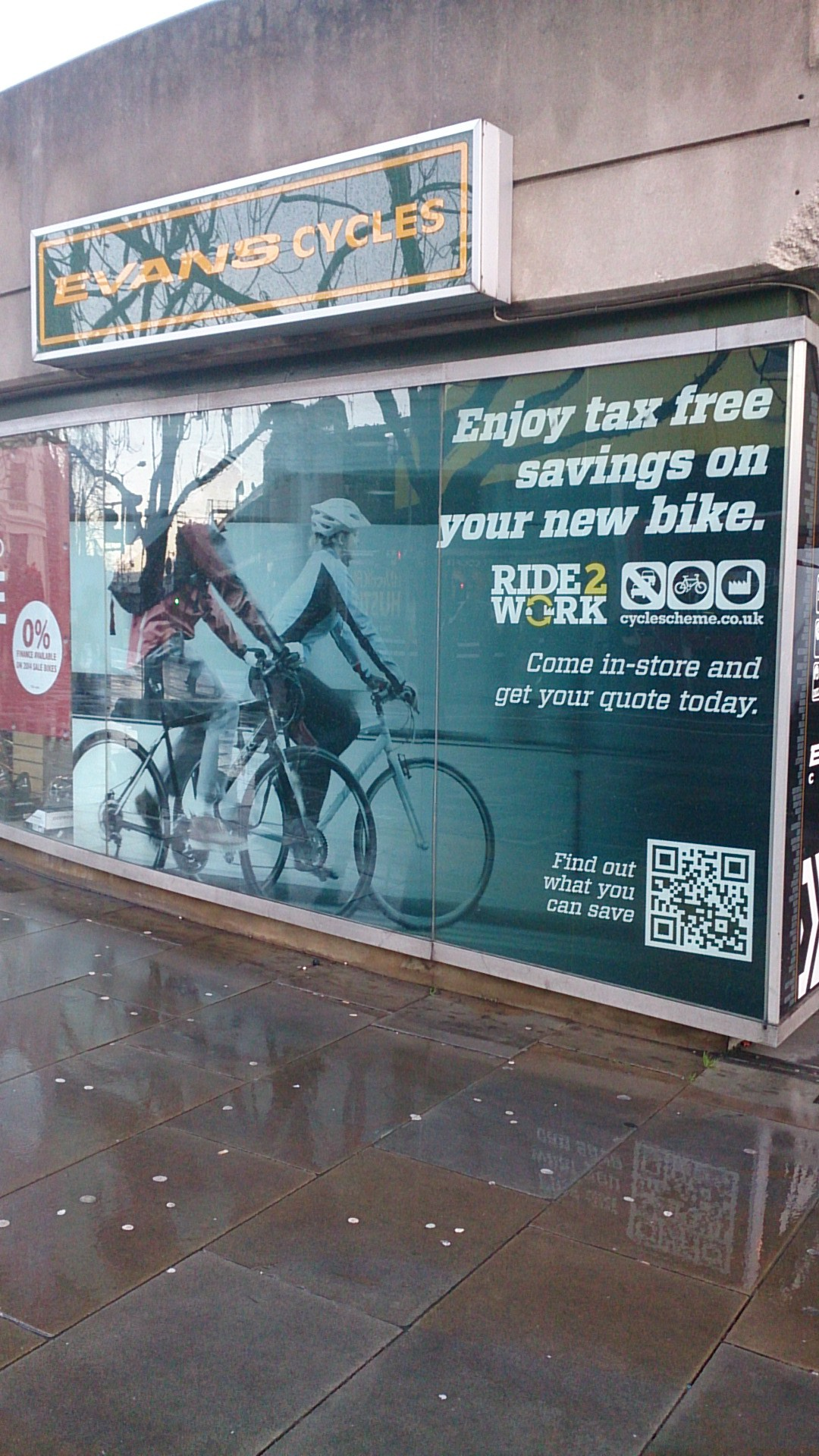 Mobile Marketing in the Wild: Evans Cycles