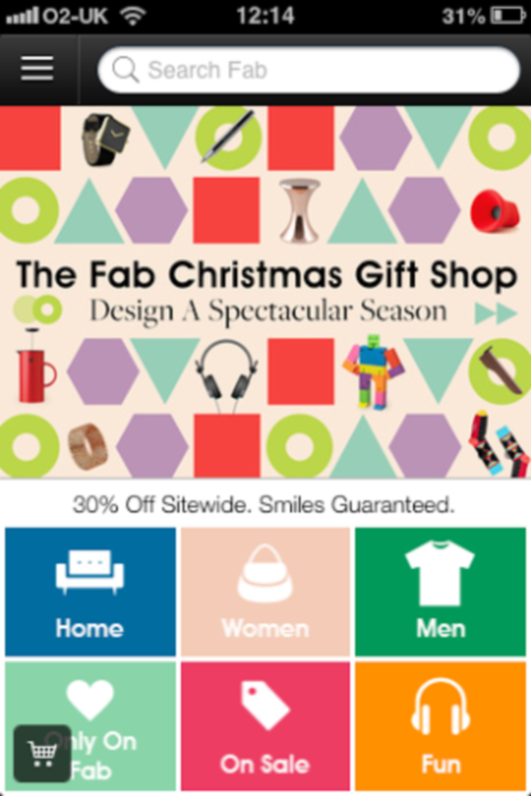 Review: Fab vs Etsy Christmas Shopping