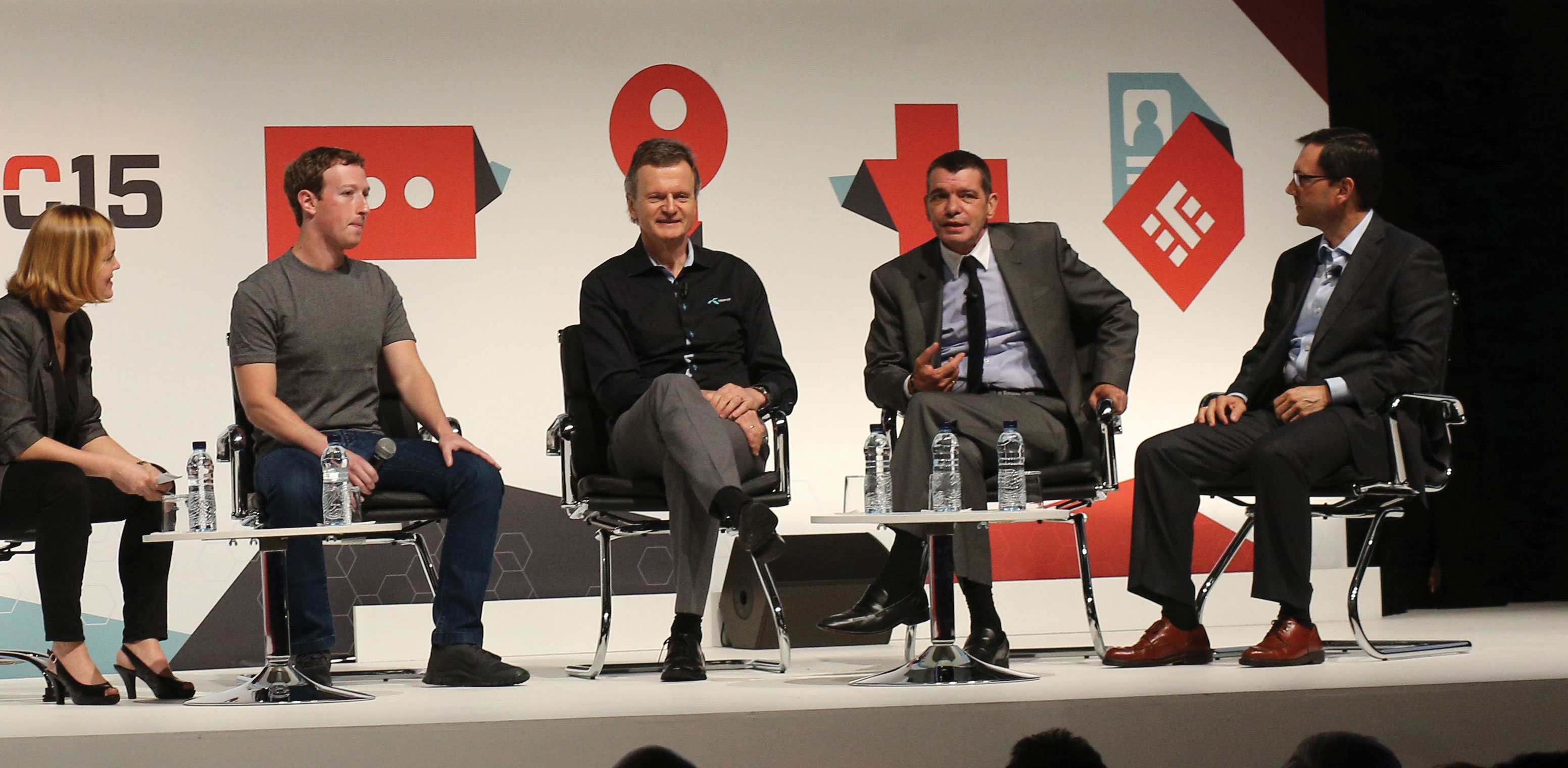 """Zuckerberg at MWC: """"Connecting The Next Half of The World is Going to be Very Different"""""""