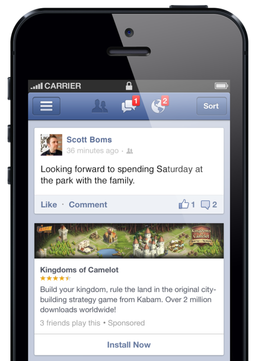 Facebook Ads Double During Festive Period, says Cantor