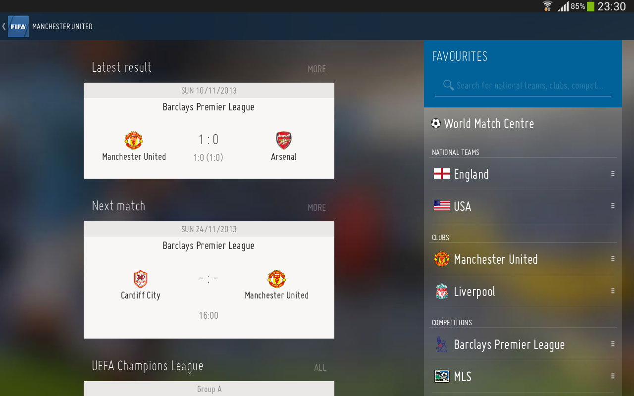 FIFA Launches First Ever Official App
