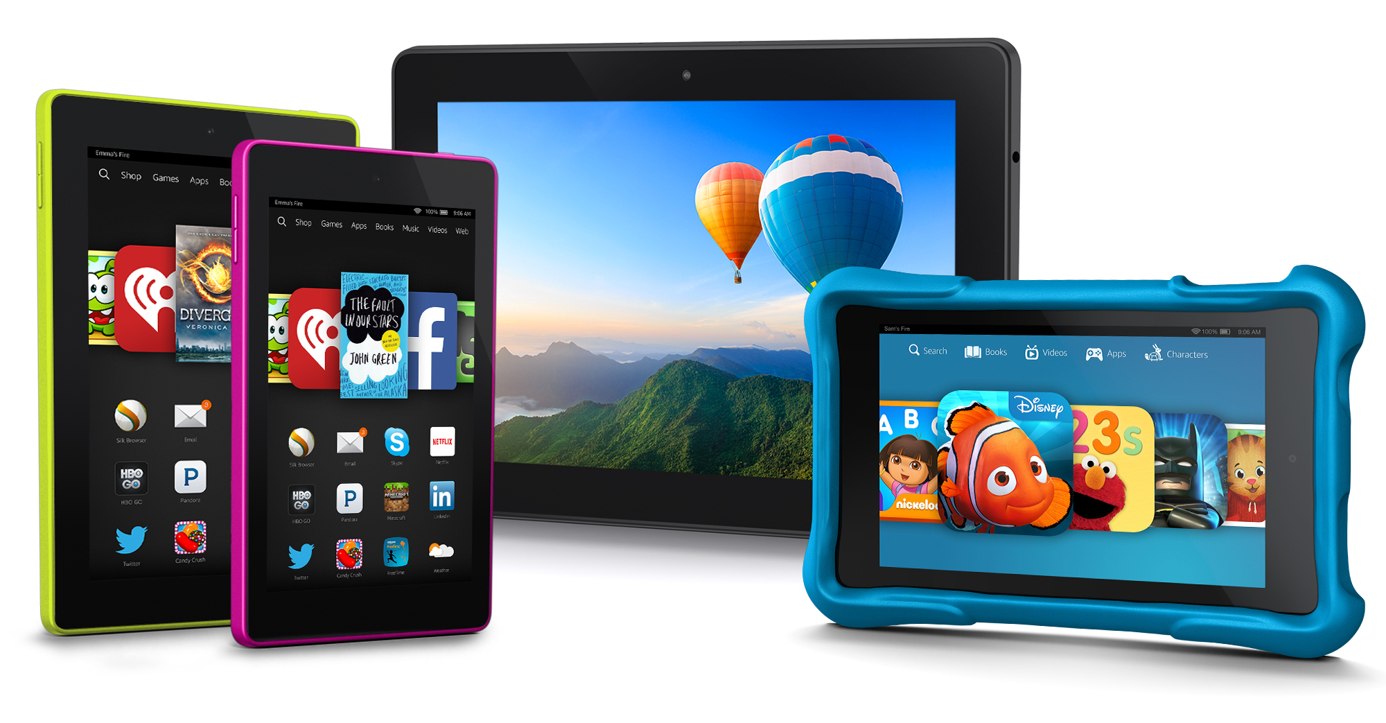 Amazon Launches Kid-friendly Kindle Fire Tablet