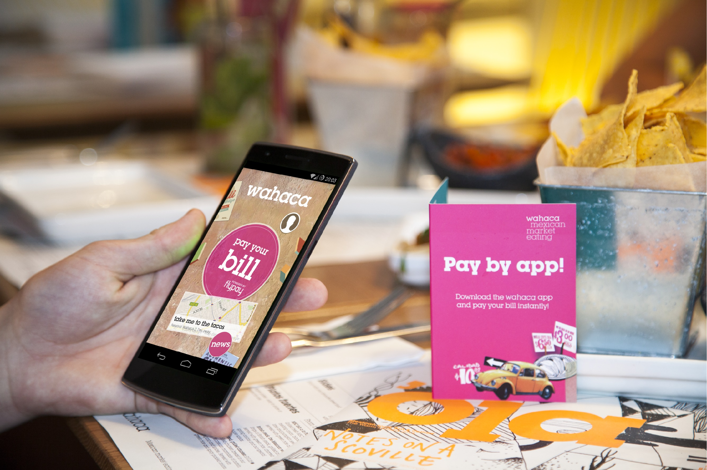 Wahaca Sees Success with Flypay Pilot