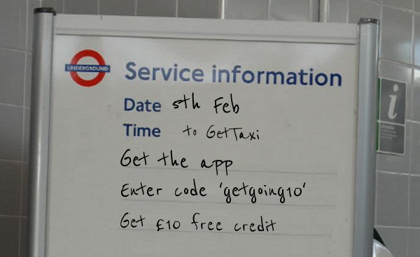Mobile Marketing in the Wild: GetTaxi Hijacks #TubeStrike
