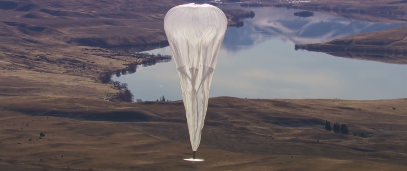 Google Takes Significant Strides Toward Balloon Internet