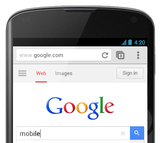 how to search a picture on google mobile