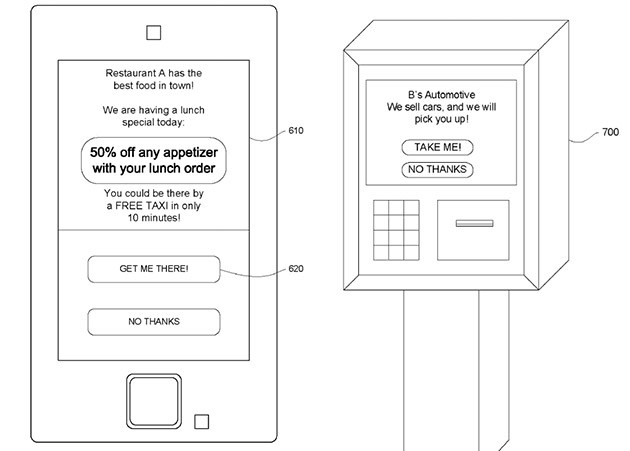Google Patents 'Get Me There' Ad that Gives Free Travel to Store