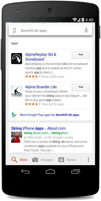 Google Goes Live with App Search on Android