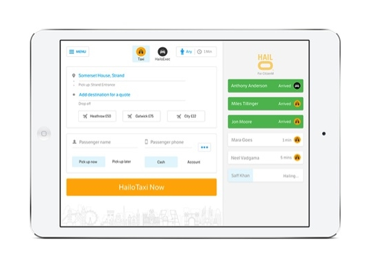 Hailo and Bookatable Partner for Dine and Dash Convenience