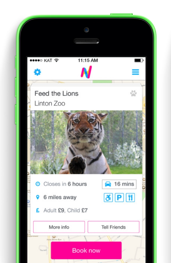 Here & Now Launches Family-friendly Activity App