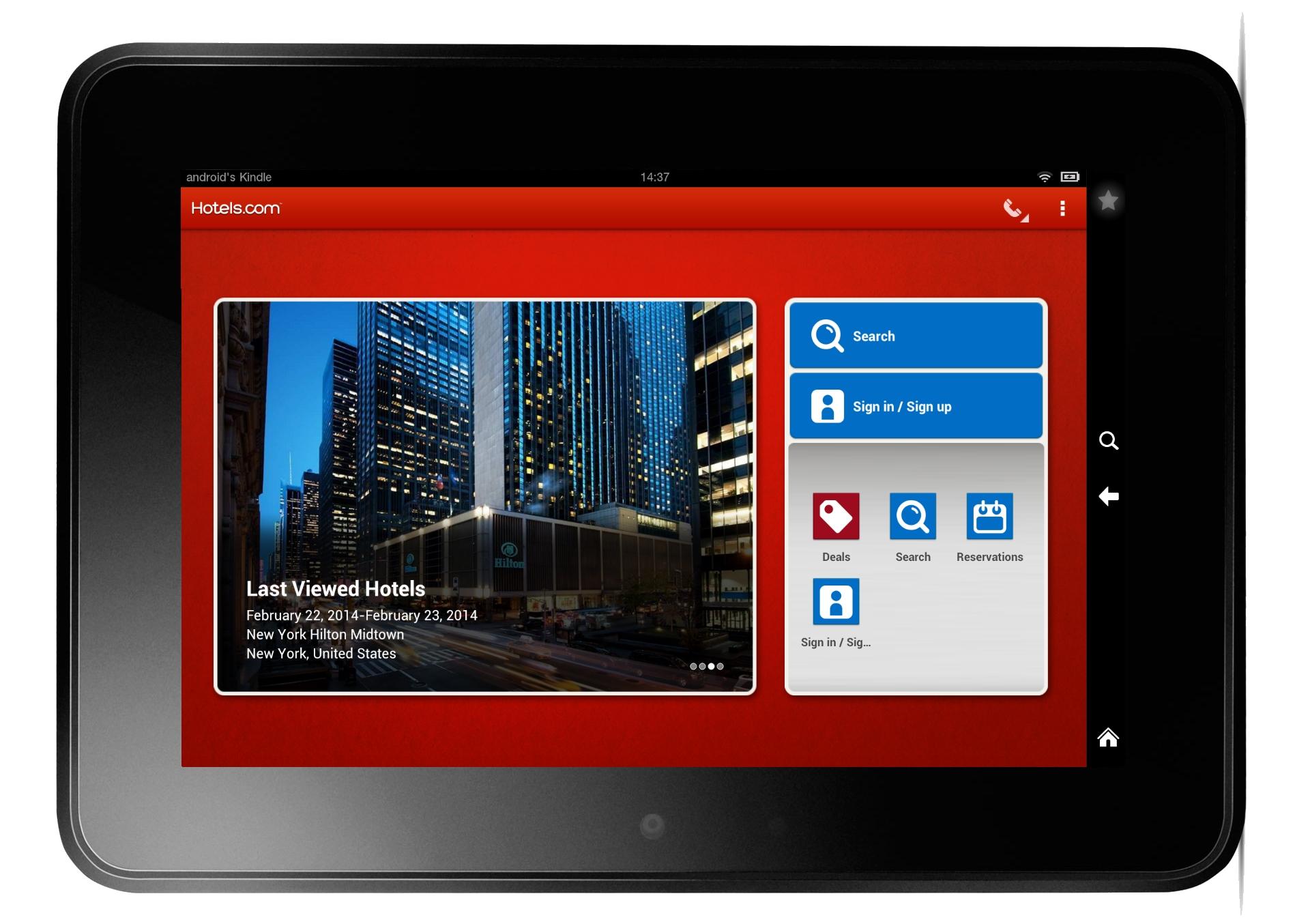 Hotels.com Apps Break 25m Downloads