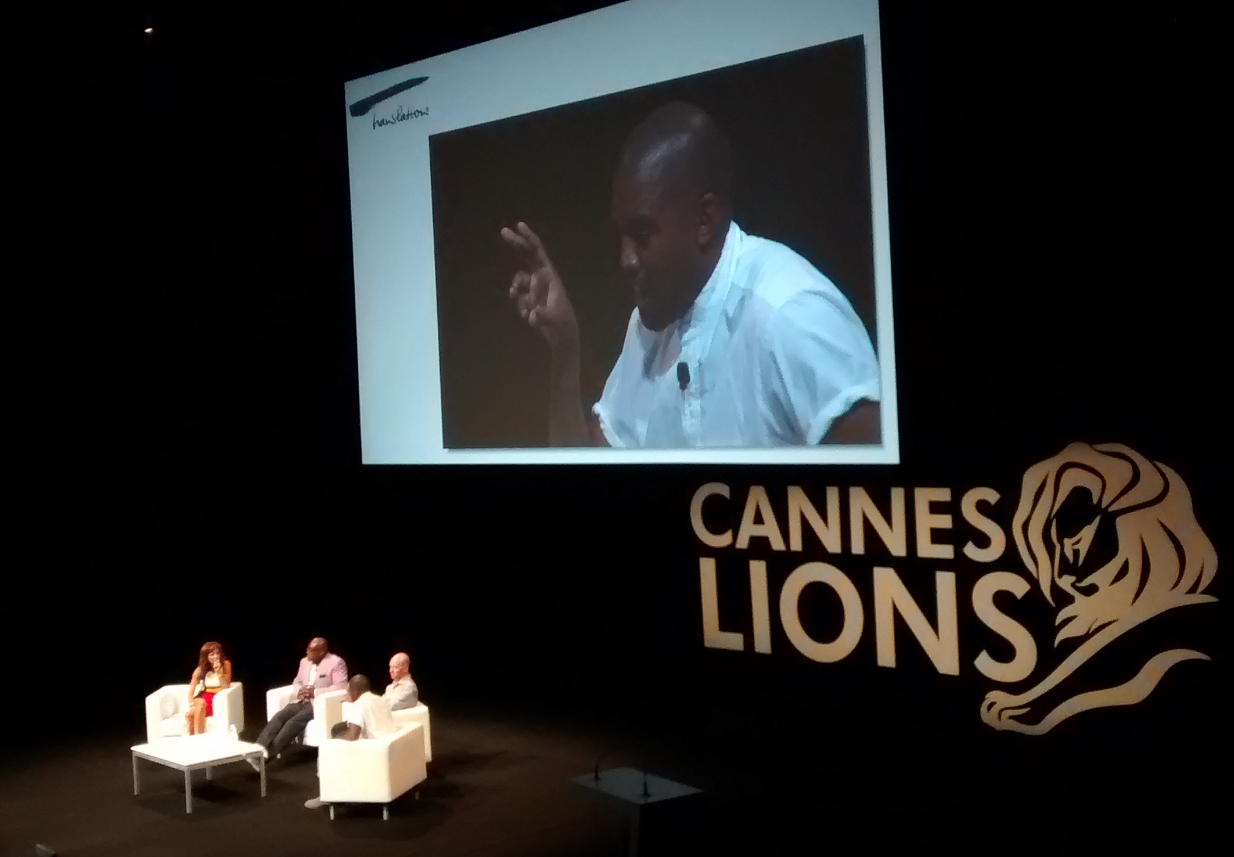 """""""The Fall of BlackBerry and Rise of Apple is a Win for Creativity"""" – Kanye West Talks Mobile at Cannes Lions"""