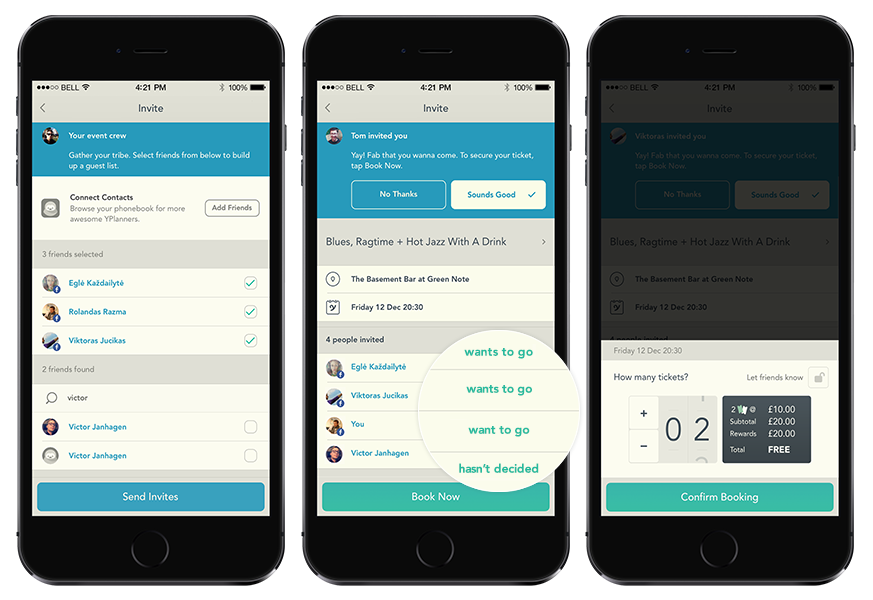 YPlan Unveils New Features on Event Planning App