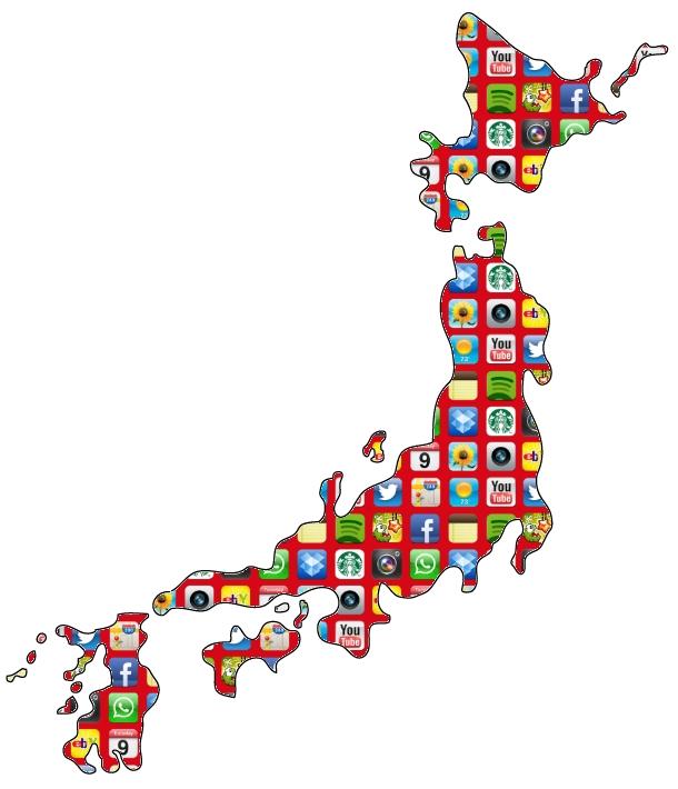 Line Rules App Revenues in Japan
