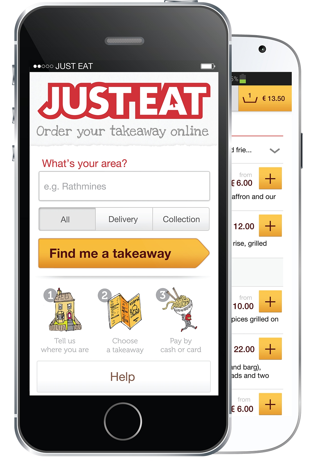 Majority of Just Eat Takeaway Orders Now Come From Mobile