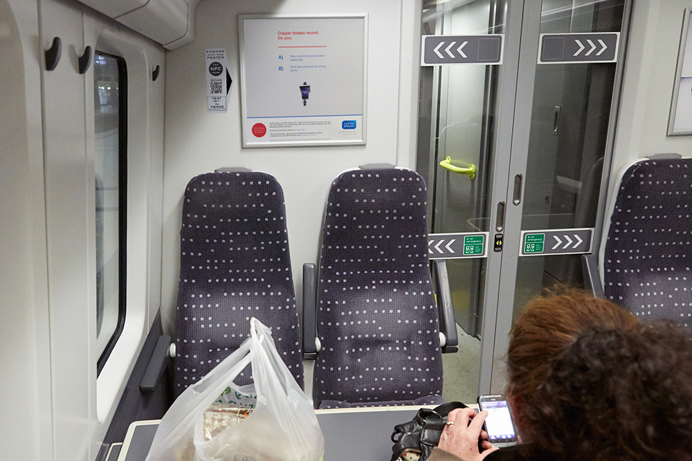 KBH Launches On-train Direct Response Mobile Ad Channel