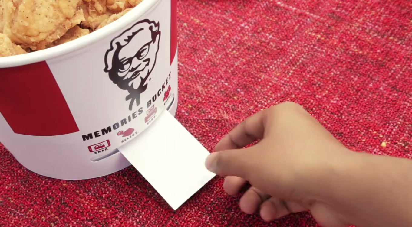 KFC's Buckets Get Smart with Bluetooth Connectivity
