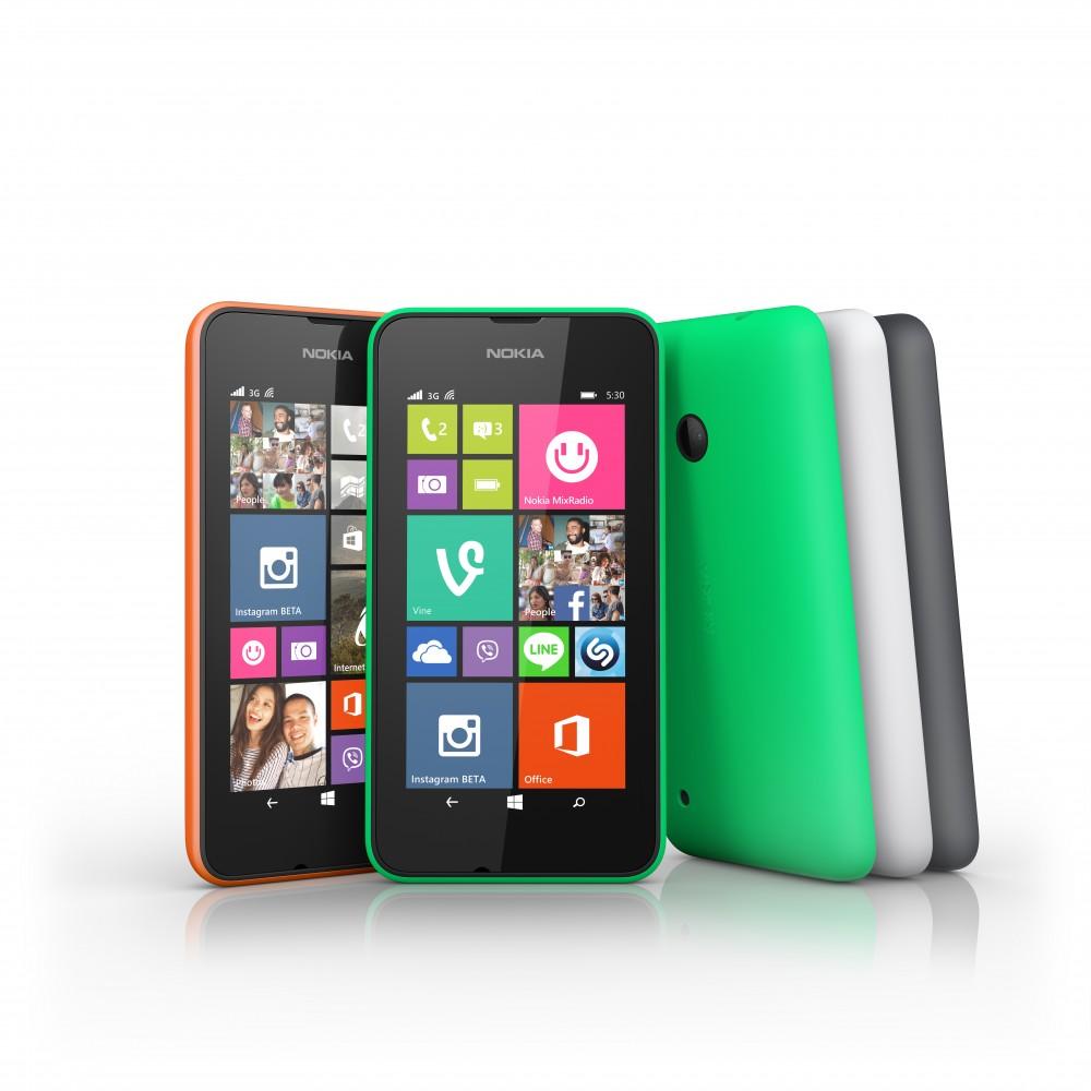 Microsoft Takes Aim at Entry-level Market with Lumia 530
