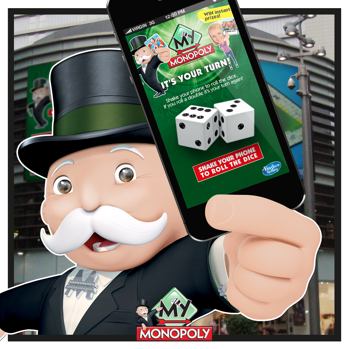 Hasbro Promotes 'My Monopoly' with Mobile Technology at Westfield Stratford