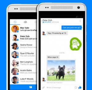 Facebook's Messenger is Fastest Growing App of 2015