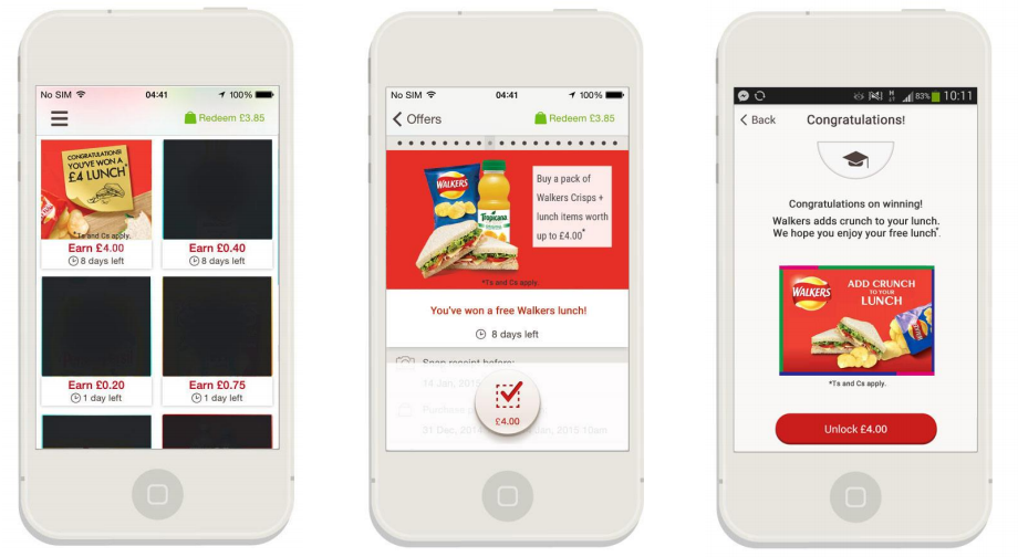 Walkers Crisps Partners with Shopitize for Text-to-Win Redemption