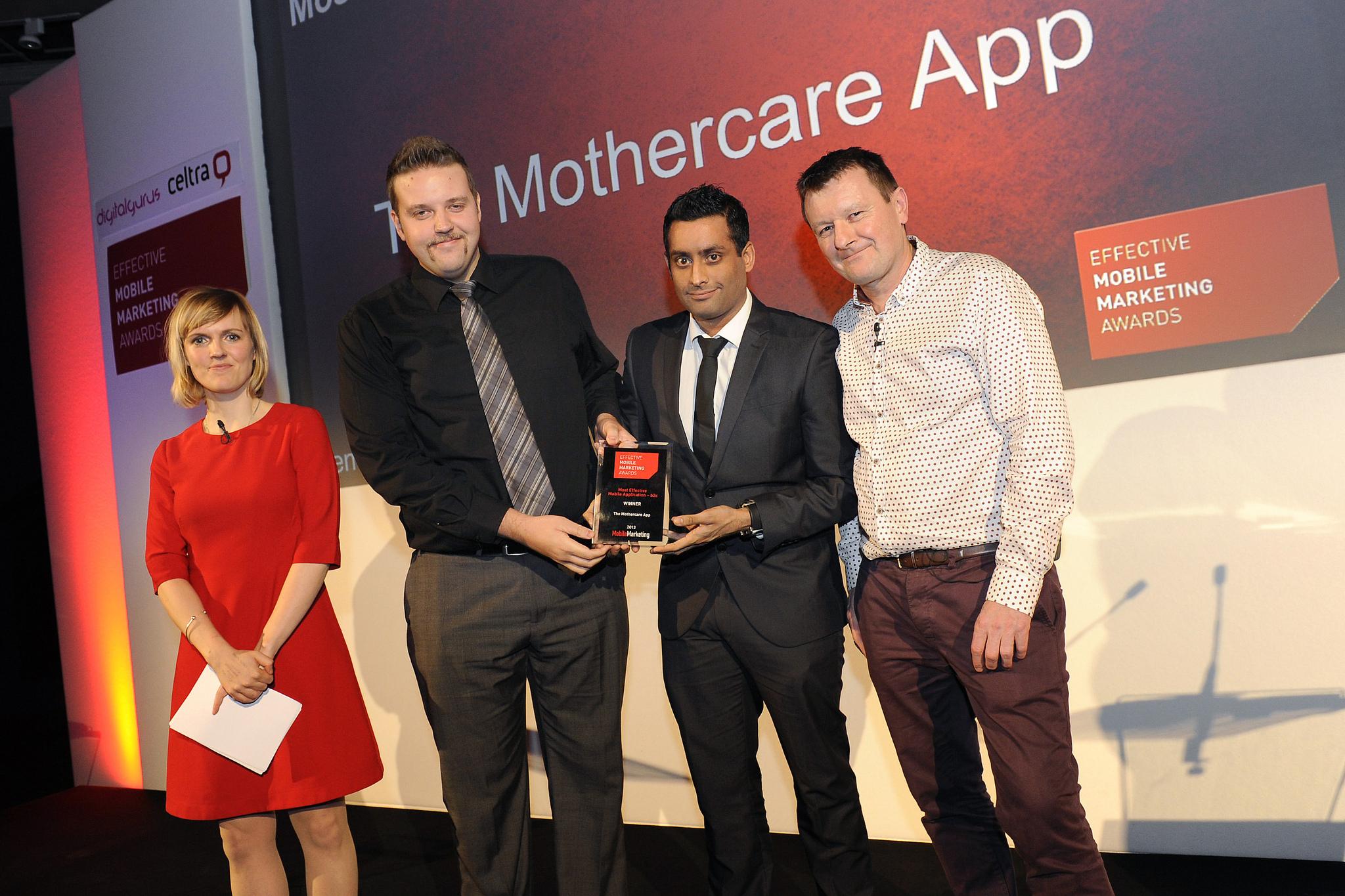 Effective Mobile Marketing Awards – Last Year's Winners: b2c App