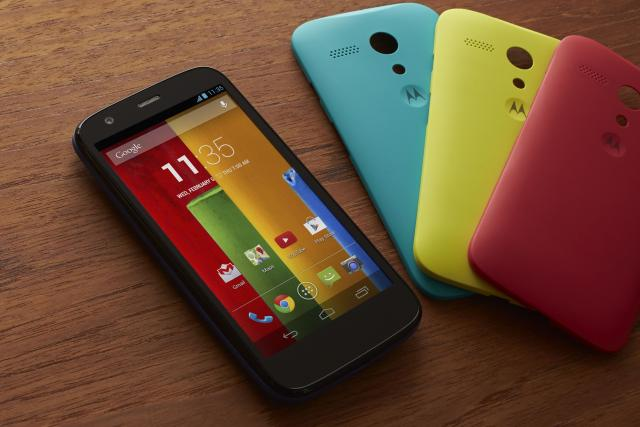 Motorola Launches $179 Moto G