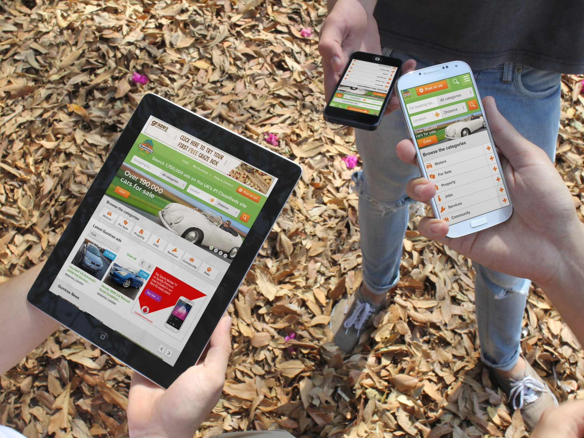 Gumtree Launches Responsive Website and Updated iPad App