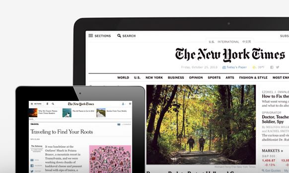 NYTimes.com Relaunches with First Native Campaign from Dell