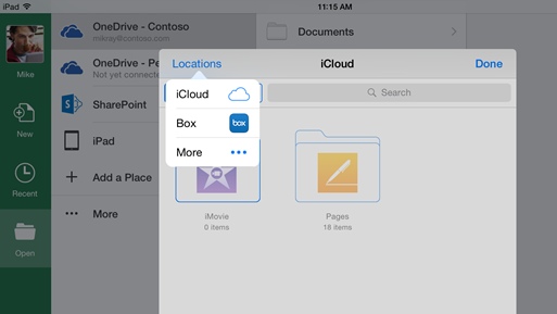 Microsoft Opens up Office Apps to Third-party Clouds