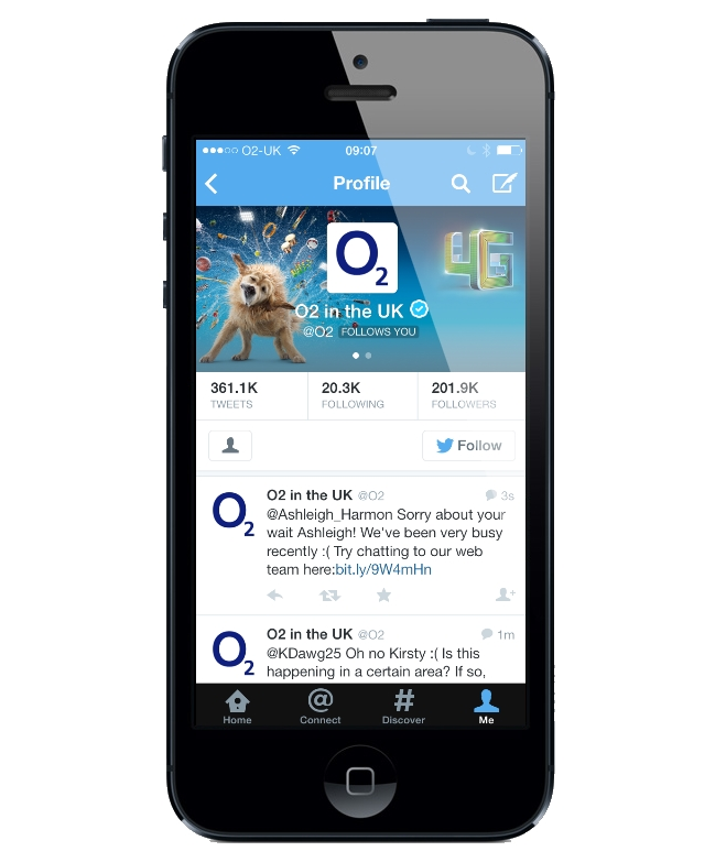 O2 Launches Twitter CRM Program