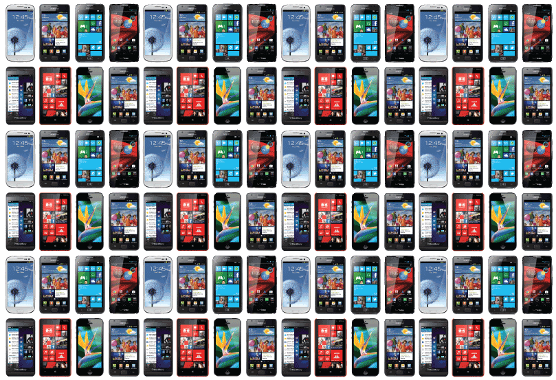 2013's Global Smartphone Sales Outnumbered Feature Phones for the First Time